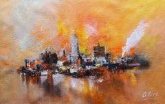 4813 East Toronto, Painting, Oil on Canvas