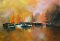 4814  Barlovento, Painting, Oil on Canvas