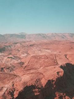 Masada Desert Fortress II, Photograph, C-Type