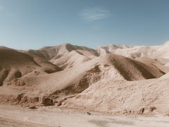 Desert in Israel, Photograph, C-Type