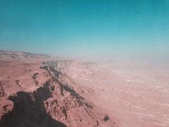 Masada Desert Fortress I, Photograph, C-Type