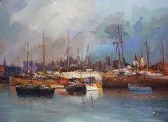 3811 La Boca, Painting, Oil on Canvas