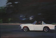 """"""" Triumph TR4 """", Painting, Oil on Canvas"""