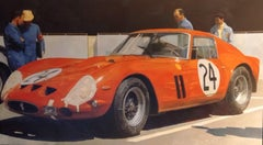 """Mythic Ferrari"", Painting, Oil on Canvas"
