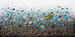 Swallowtail Butterfly Dance, Painting, Acrylic on Canvas
