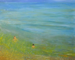 in the sea, Painting, Oil on Canvas