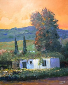 3939 Humble ranch, Painting, Oil on Canvas