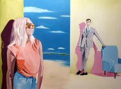 Sunglasses, Painting, Oil on Canvas