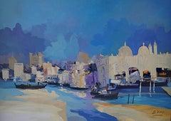4200 Nautic world-Venecia, Painting, Oil on Canvas