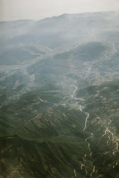 Mountains of Bhutan, Photograph, C-Type