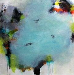 Uneven Terrain, Mixed Media on Canvas