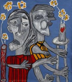 Fair Tie, Painting, Acrylic on Canvas