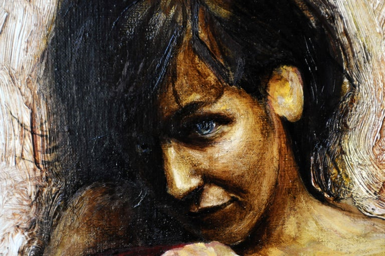 Innocentia, Painting, Oil on Canvas For Sale 3
