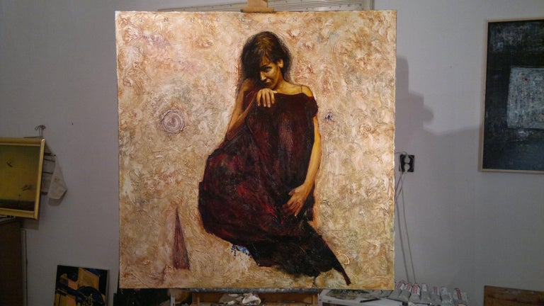 Innocentia, Painting, Oil on Canvas For Sale 1