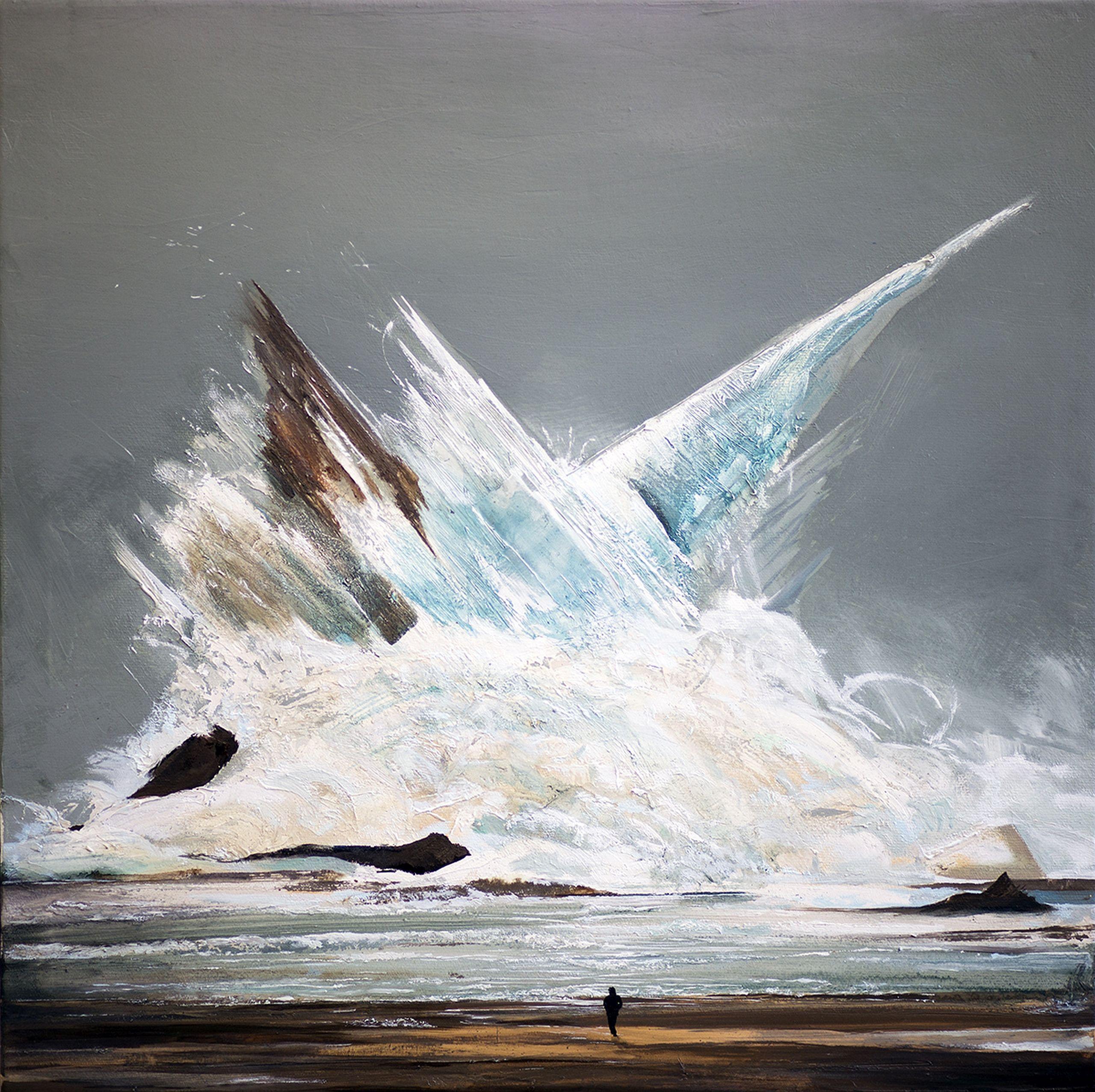 Total breakdown, Painting, Oil on Canvas