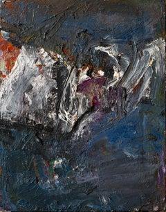 White bird, Painting, Oil on Canvas