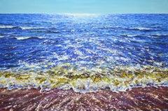 Sun glare, Painting, Oil on Canvas