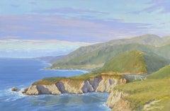 Big Sur Vista, Painting, Oil on Canvas