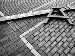 CROSSED LINES Wrigley Field, Photograph, Archival Ink Jet