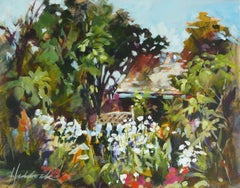Gallery Garden, Painting, Acrylic on Canvas