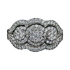 1.25 Carat Diamond Cocktail Ring