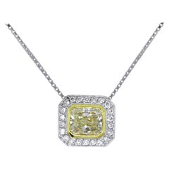 1.58 Carat Diamond Necklace