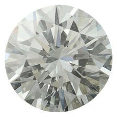 1.28 Carat Round Brilliant Cut Diamond GIA Graded Excellent Cut Loose Solitaire