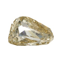 1.29 Carat Novelty Double Rose GIA Certified Fancy Brown-Yellow Diamond