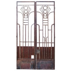 Vintage Art Deco Architectural Gates