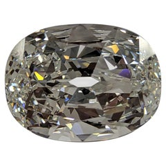 13 Carat Antique Cut Cushion Diamond F VS1 GIA for High Jewels Project