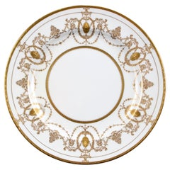 13 Minton for Tiffany Adam-Style Gold Encrusted Plates