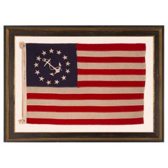 13 Star Antique American Private Yacht Flag