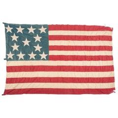 13-Star Medallion Pattern American Flag