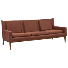 1307 Wingback Sofa by Paul McCobb for Directional 'Upholstery Needed', US, 1950s