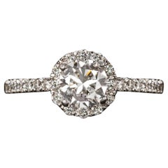 1.32 Carat Diamond Engagement Solitaire Ring