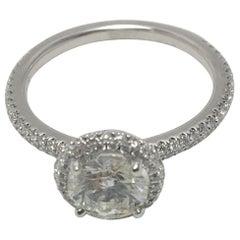 1.34 Carat Diamond Engagement Ring