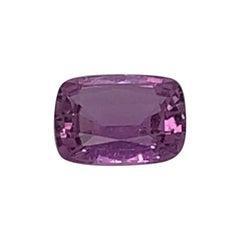 1.35 Carat Purple Sapphire GIA Certificate