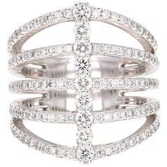 1.39 Carat Diamond Cocktail Ring