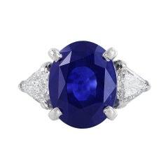 14 Carat Ceylon Sapphire AGL Certified Ring
