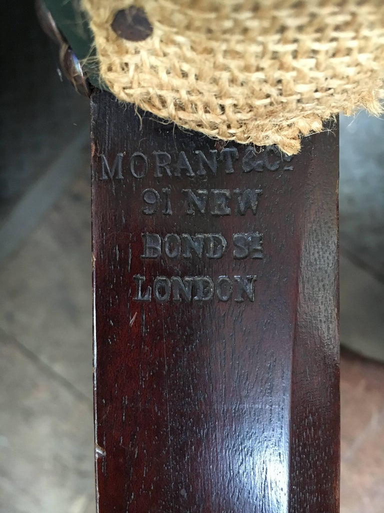 14 Chippendale Style 19th Century Dining Chair by Morant & Co. For Sale 5