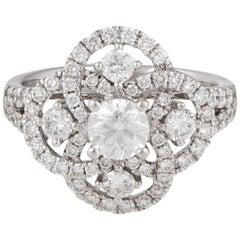 14 Karat Diamond Engagement Ring