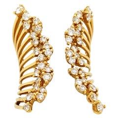14 Karat Diamond Fashion Band Yellow Gold