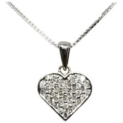 14 Karat Diamond Heart