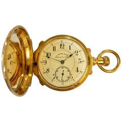 14 Karat Gold D.Gruen & Son Pocket Watch