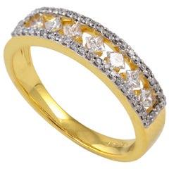14 Karat Gold Diamond Engagement Ring