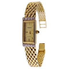 14 Karat Gold Diamond Ladies Watch Avignon