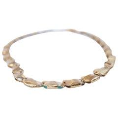14 Karat Gold Exclusive Magic Bead Necklace by L'Enchanteur