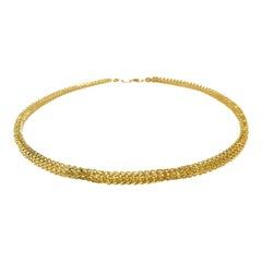 14 Karat Gold Galaxy Link Necklace