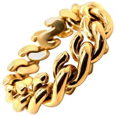 14 Karat Gold Italian Bracelet