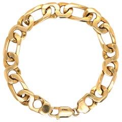 14 Karat Gold Link Bracelet